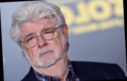 'Star Wars' Fans Are Freaking Out Over the Cutest Photo of George Lucas and Baby Yoda