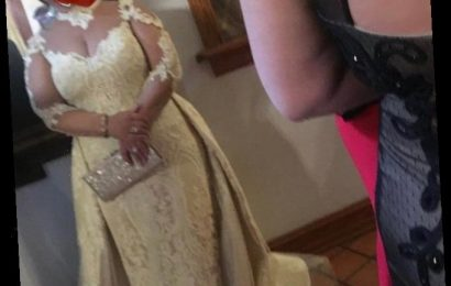 People can't understand what's wrong with this bride's wedding dress… then realise she's actually a GUEST