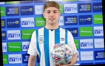 Arsenal starlet Emile Smith Rowe joins Huddersfield Town on loan transfer until end of the season – The Sun
