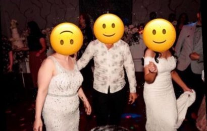 Guest slammed for wearing 'tacky' white beaded dress to her sister-in-law's wedding – after refusing to be a bridesmaid