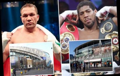 Arsenal and Tottenham in battle to host Anthony Joshua vs Kubrat Pulev as Eddie Hearn admits both stadiums 'in the mix' – The Sun