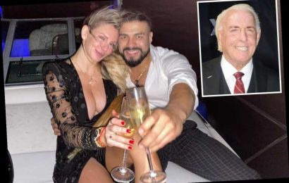 WWE US Champ Andrade reveals close relationship with Ric Flair and how he received the engagement to daughter Charlotte – The Sun
