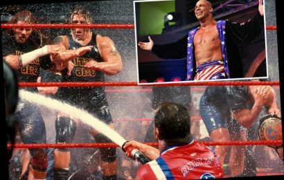 WWE's 'special Attitude Era days' will never return but it's 'the right thing' catering to kids now, insists Kurt Angle – The Sun