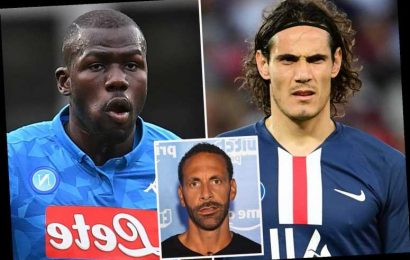 Rio Ferdinand names four stars Man Utd should sign during transfer window including Edinson Cavani and Kalidou Koulibaly – The Sun