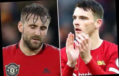 'Awful' Luke Shaw hammered by Man Utd fans as it emerges he is best paid full-back in world… triple Andy Robertson – The Sun