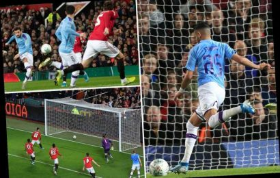 Man Utd 1 Man City 3: Citizens take commanding first-leg lead after destroying neighbours in Carabao Cup semi – The Sun