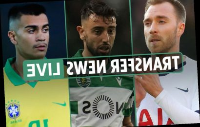 12pm Transfer news LIVE: Aubameyang Barcelona LATEST, Eriksen to Inter, Cavani tussle, Hernandez completes LA move – The Sun