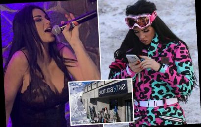 Katie Price kept furious hotel guests awake until 5am 'screaming and singing' after garage festival performance