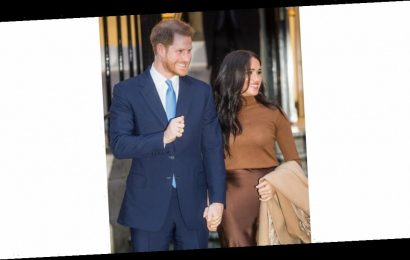 Harry and Meghan Look Happy to Be Back During Their First Public Engagement of 2020