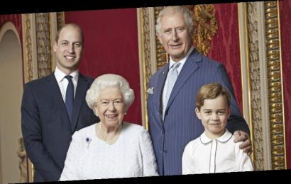 A Queen and three heirs: Four royal generations celebrate new decade