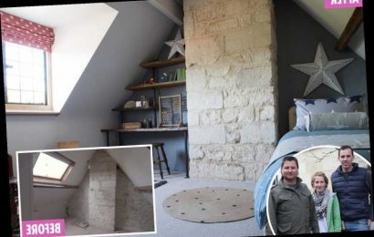 Couple who have never renovated a house go £65k over budget and say it 'nearly broke them' on George's Clarke's Old House, New Home