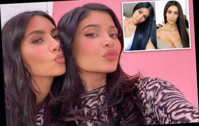 Kylie Jenner and Kim Kardashian look more alike than ever in Instagram snap – The Sun