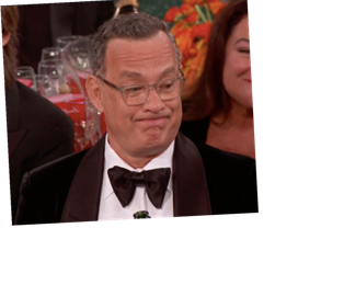 Tom Hanks' Reaction To Ricky Gervais' Golden Globes Monologue Was A Full Mood