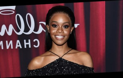 Gabby Douglas Steps Out For American Rescue Dog Show 2020