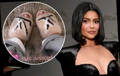 Kylie Jenner slammed for flaunting fur slippers after posting about Australia fires