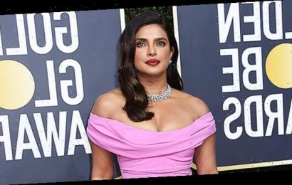 Priyanka Chopra Is Pretty In Pink As Nick Jonas' Date To The Golden Globes