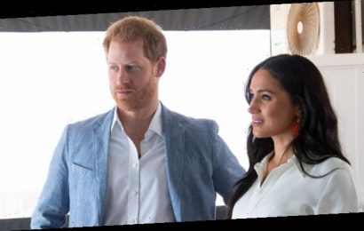 Prince Harry and Meghan Markle to 'Step Back as Senior Members of Royal Family'