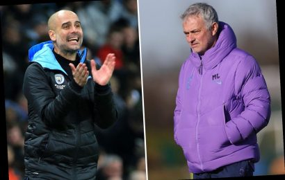 Guardiola insists old rival Mourinho is NOT washed up despite uninspiring start at Tottenham – The Sun