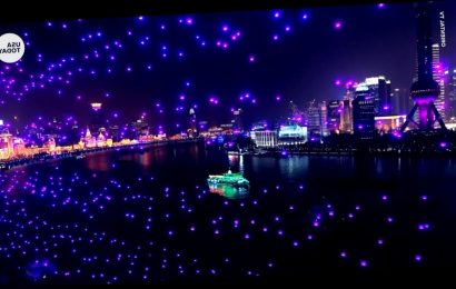 China TV station admits New Year's drone show was prerecorded