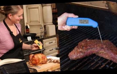 Professional chefs swear by this thermometer—and it's finally on sale