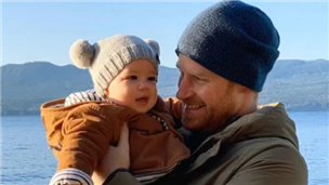 Harry and Meghan share new photo of Archie along with highlights of their year