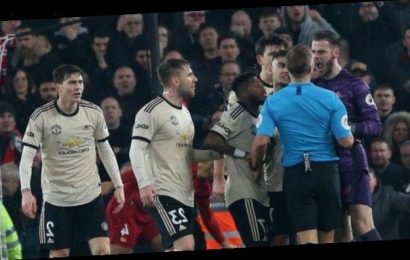 Manchester United fined £20,000 for failing to control players