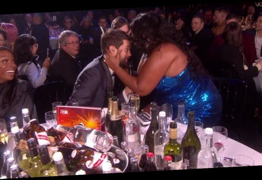 Jack Whitehall flushes as Lizzo tries to motorboat him after Harry Styles flirt