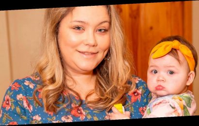 Mum says baby saved her life after awkward position in womb blocked blood clot