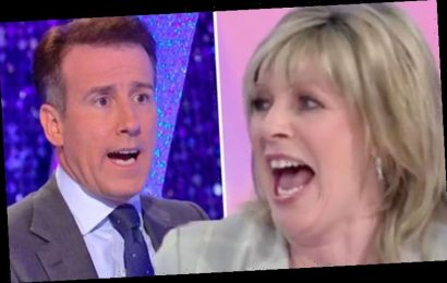 'I called her Ruth!' Strictly's Anton shocks Ruth Langsford with wife confession