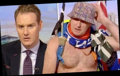 Dan Walker issues warning to guest over risque appearance on BBC Breakfast: 'Put it away'