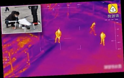 China uses drones with THERMAL CAMERAS to check local' temperatures