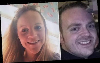 Salesman, 36, murdered his girlfriend, 29, in front of their daughter