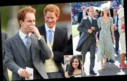 TALK OF THE TOWN: Chums snub Harry over Meghan the 'hijacker'