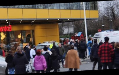 Ikea evacuated over 'suspect package' as police rush to scene