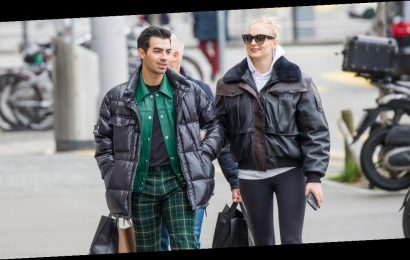 Sophie Turner Takes a Stroll With Joe Jonas in Switzerland After Pregnancy News