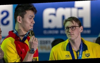 Athlete anger set to grow if FINA doesn't void Sun Yang's gold medals