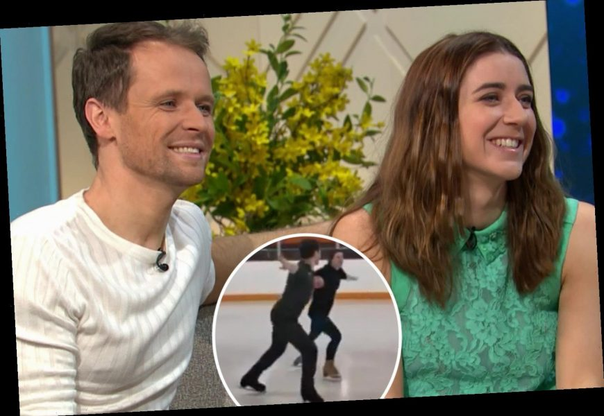 Dancing On Ice's Mark Hanretty admits he 'forgets' partner Libby Clegg is blind – and leaves her stranded on the rink – The Sun