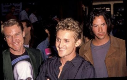 'Bill and Ted Face the Music' Photo Reunites Wyld Stallyns Keanu Reeves and Alex Winter