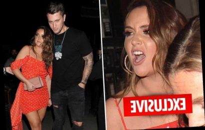 Jacqueline Jossa denies row with Dan Osborne and claims 'all we did was snog' at party in her honour – The Sun