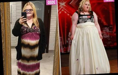 X Factor's Emma Chawner shows off incredible 13 stone weight loss 13 years after appearing on the show – The Sun