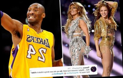 J. Lo and Shakira slammed for lack of Kobe Bryant tribute during Super Bowl Halftime Show – The Sun