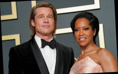 The Internet Can't Help but Ship Brad Pitt and Regina King After Their Sweet Encounter at the 2020 Oscars