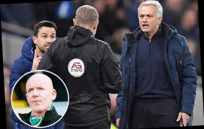 Fuming Jose Mourinho slams ex-Prem ref Dermot Gallagher for claiming Sterling should have escaped red card for Alli foul – The Sun
