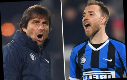 Christian Eriksen 'can do much better' at Inter Milan, claims demanding boss Antonio Conte despite scoring first goal – The Sun