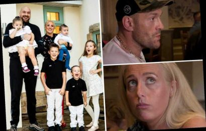 Tyson Fury tells wife Paris she 'lives like footballer's wife and not a Traveller' in row over kids going to school – The Sun