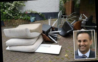 Shameless ex-cop fly-tipped carload of rubbish on stranger's driveway – and tried to say it was for Rag & Bone man – The Sun