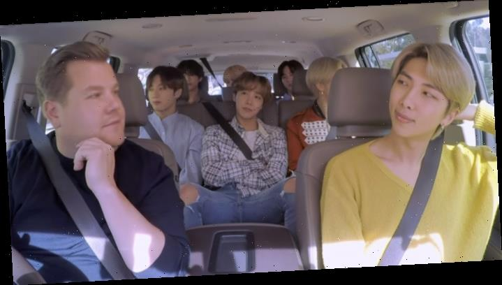 BTS Takes Over Late-Night With 'Tonight Show,' 'Carpool Karaoke' Appearances (Watch)