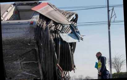 High-speed train derails in Italy, two railworkers dead
