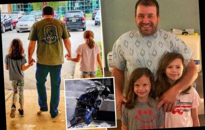NASCAR's Ryan Newman walks out of hospital with his daughters in incredible recovery after Daytona 500 crash – The Sun