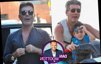 Simon Cowell so frightened of coronavirus he's wearing surgical masks in public with son Eric – The Sun